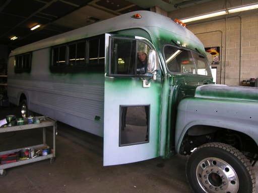 Vintage Motor Coach Restoration